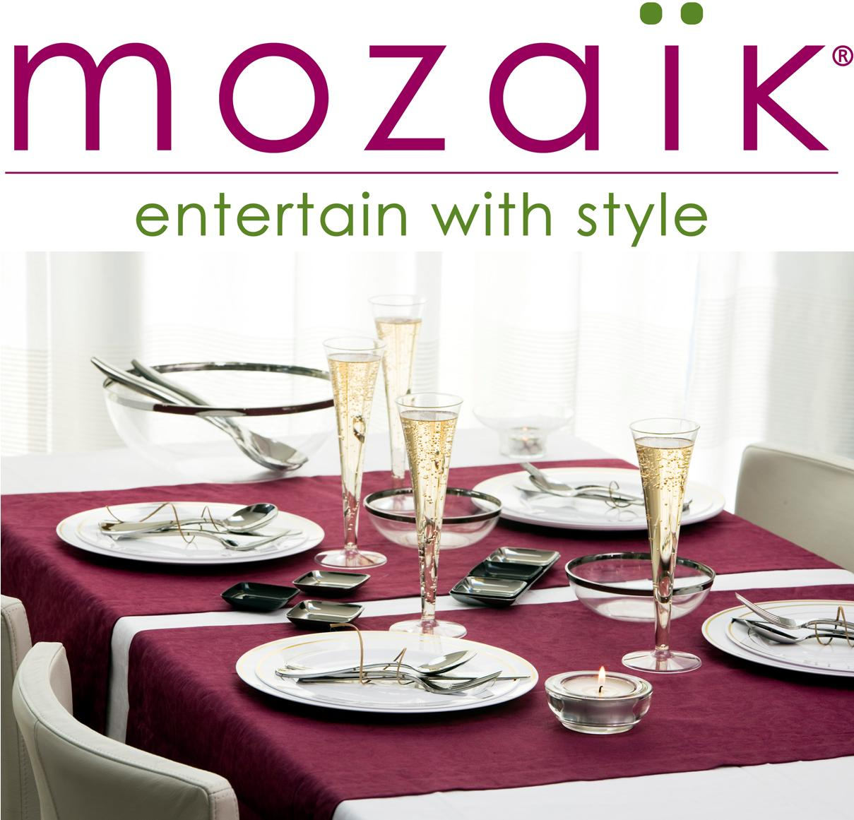 The ...  sc 1 st  Stacy Uncorked & CLOSED) Entertain in Style \u2013 Mozaïk Dinnerware Review and Giveaway ...