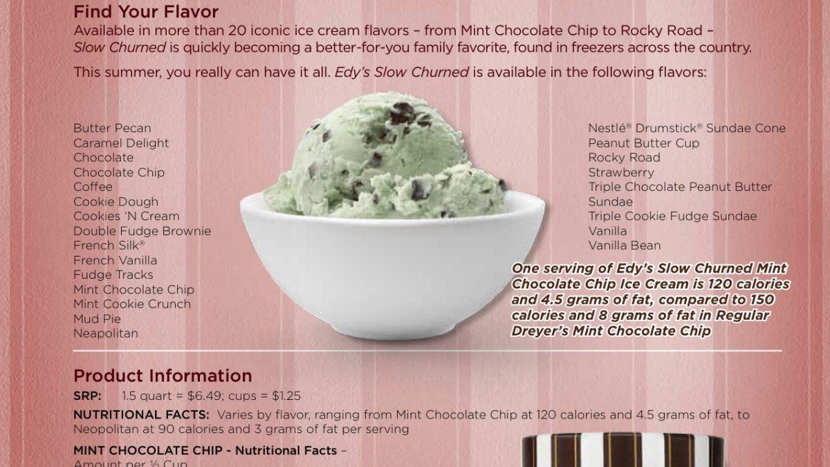 Edy's Slow Churned Lite Ice Cream