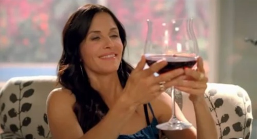 Cougar Town Big Wine Glass Names