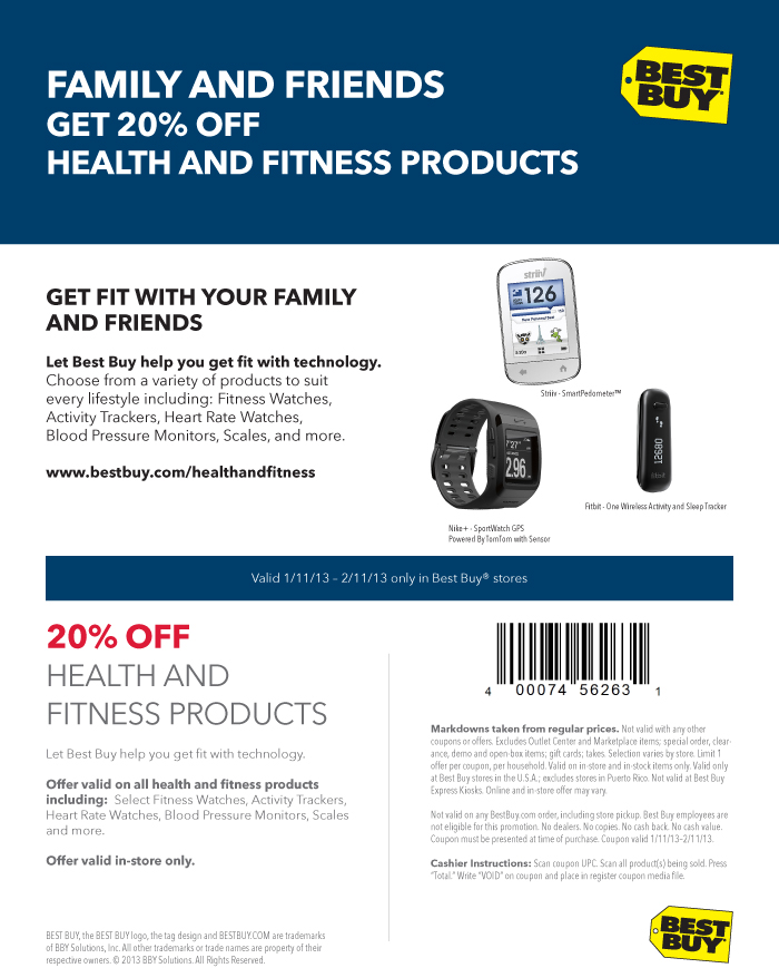 Let best buy help your healthy 2013 with 20 off small appliances and