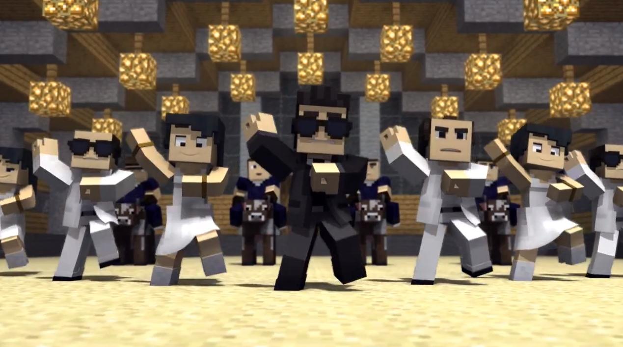 MinecraftStyleParody