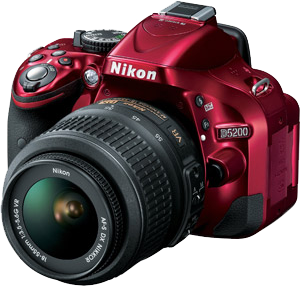 NikonD5200Red