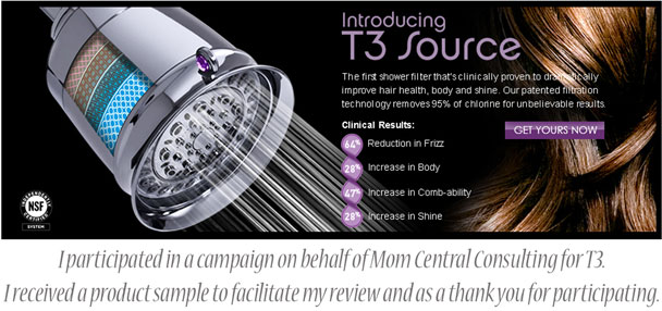 Do Your Hair And Skin A Favor With The T3 Source Shower Filter
