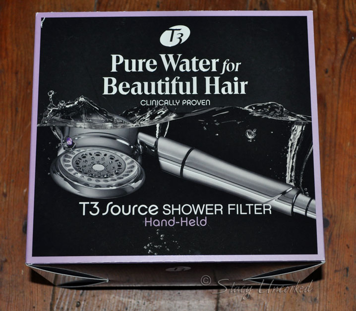 do your hair and skin a favor with the t3 source shower filter system sponsored stacy uncorked. Black Bedroom Furniture Sets. Home Design Ideas