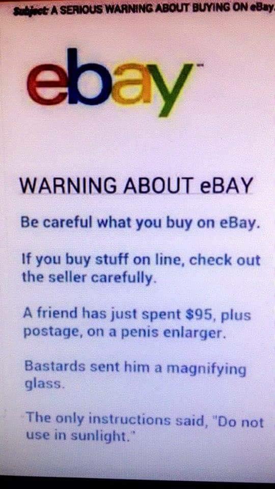 eBayWarning