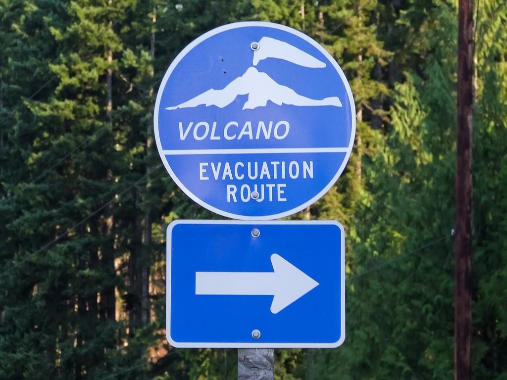 VolcanoEvacuationSign